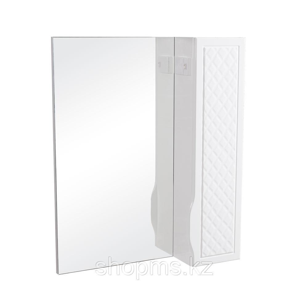 Зеркало AQUARODOS Родорс 70 R - шкаф настенный с зеркалом с подсветкой ANDREA