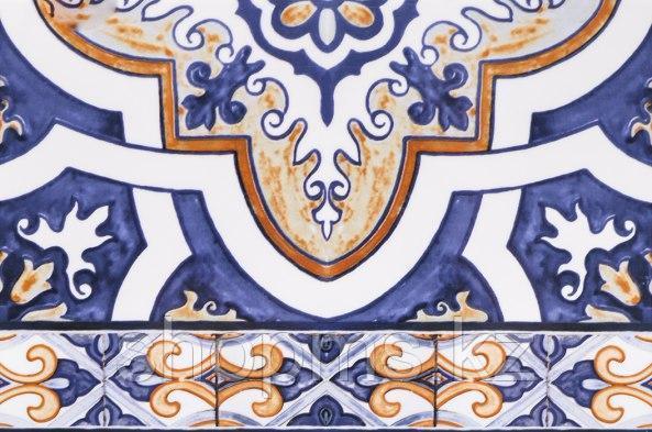 Керамическая плитка Шахтинская Андалусия син низ 03(200х300)