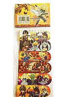 Закладки для книг магнитные (набор 6 штук) мультяшки bakugan