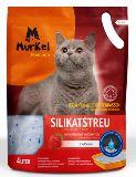 Murkel  Клубника 22л (10кг) Крупная фракция Силикагелевый наполнитель для кошачьего туалета, фото 1