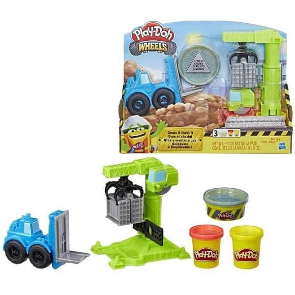 Hasbro Play-Doh E5400 Игровой набор Кран-Погрузчик
