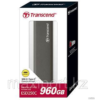 Portable SSD Transcend ESD250C 960GB  USB3.1 Type-C  для майнинга, фото 2
