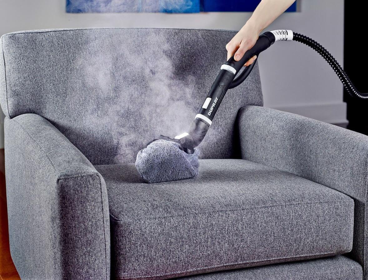 Чистка мебели паром