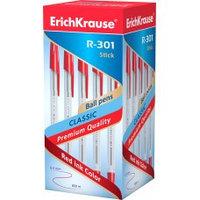 Ручка шариковый CLASSIC Stick 1мм красный R-301 Erich Krause
