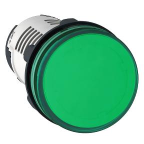 XB7EV03BP Сигнальная лампа 24В зеленая