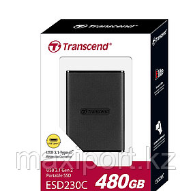 Portable SSD Transcend ESD230C 480GB  USB3.1 Type-C