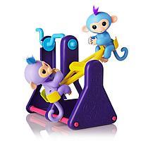 Fingerlings набор их двух обезьянок и турника, фото 1