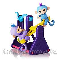 Fingerlings набор их двух обезьянок и турника
