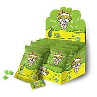 ВЗРЫВ МОЗГА карамель со вкусом зеленого яблока в пакете, блок 24 шт. (15г х 24 х 12)