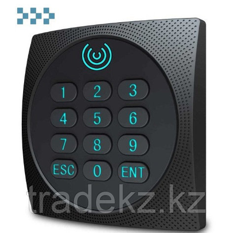 Считыватель Mifare карт с частотой 13,56 МГц с клавиатурой, IP65 ZKTeco KR602M, фото 2