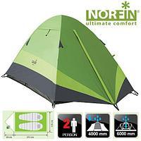 Палатка 2-х местная трекинговая для рыбалки и активного отдыха Norfin ROACH 2 NF