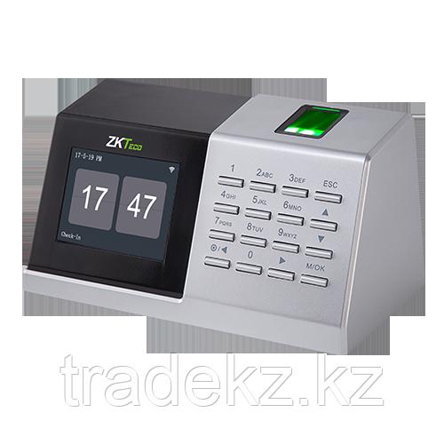 Терминал учета рабочего времени по отпечаткам пальцев ZKTeco D2