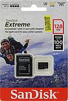Карта Памяти Sandisk Extreme 100MB/S, Тип: microSDXC, 128 Гб