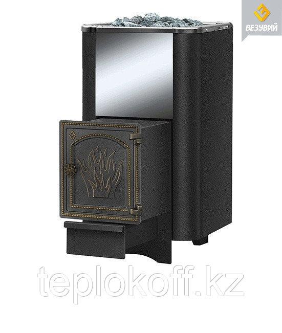 Печь для бани Везувий Сенсация 28 (ДТ-4) антрацит дровяная