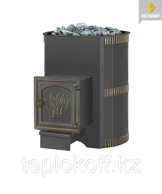 Печь для бани Везувий Лава 22 (ДТ-4)