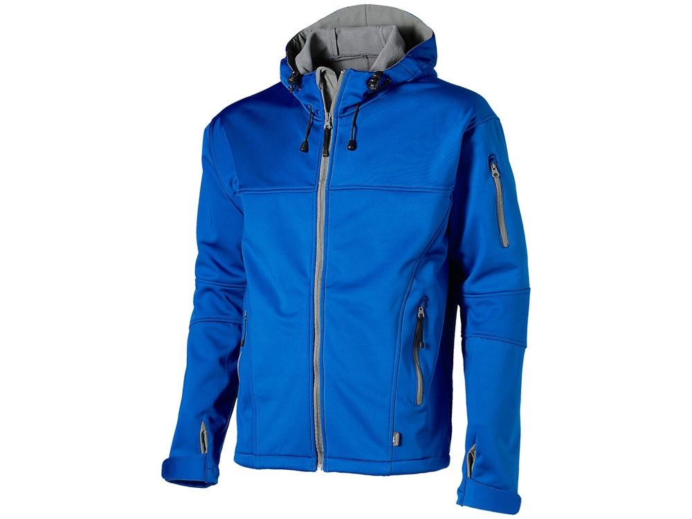 Куртка софтшел Match мужская, небесно-синий/серый - фото 1