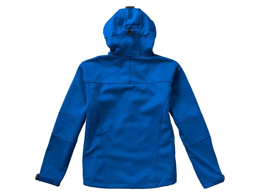 Куртка софтшел Match мужская, небесно-синий/серый - фото 4