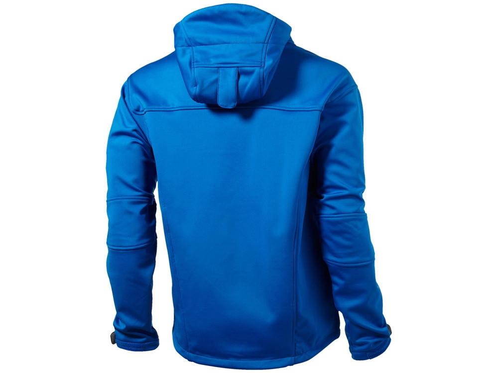 Куртка софтшел Match мужская, небесно-синий/серый - фото 2