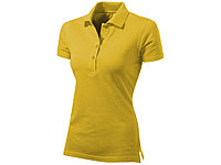 Рубашка поло First женская, золотисто-желтый