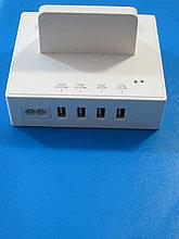 Универсальное зарядное устройство на 4 USB порта, Алматы