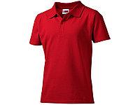 Рубашка поло First детская, красный