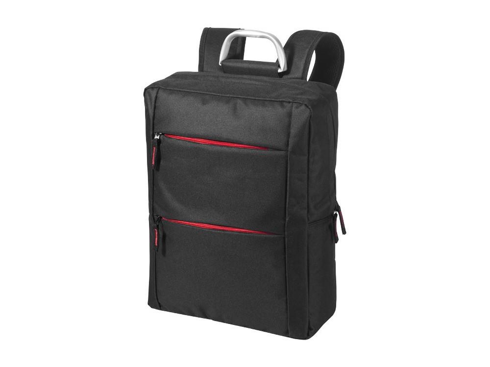 Рюкзак Boston для ноутбука 15,6, черный/красный - фото 1