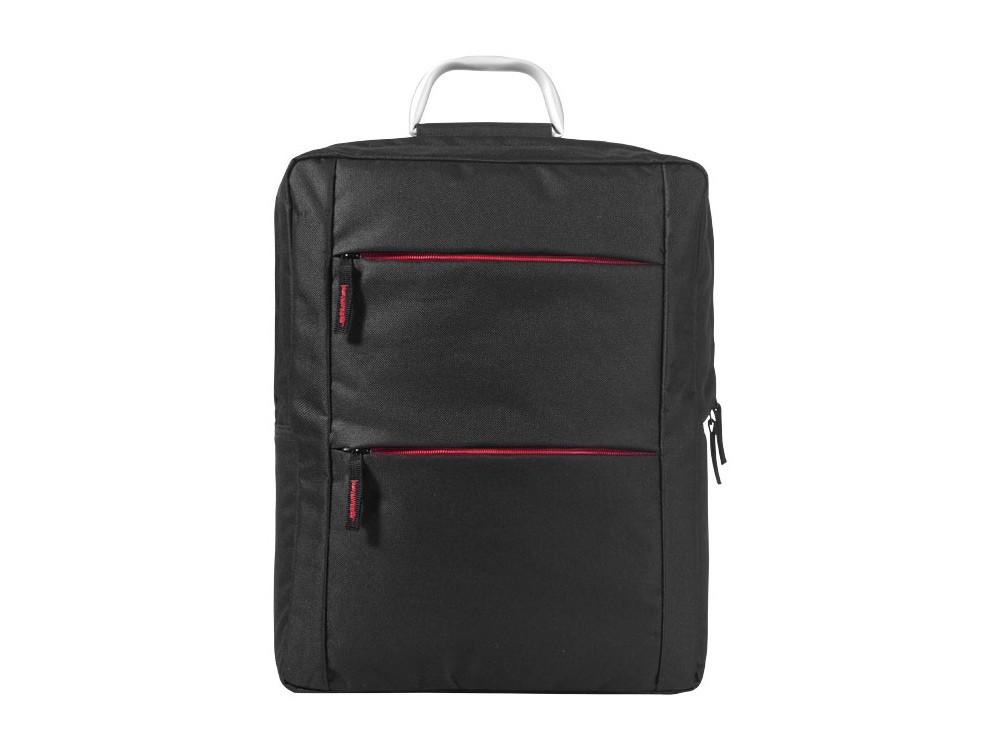 Рюкзак Boston для ноутбука 15,6, черный/красный - фото 3