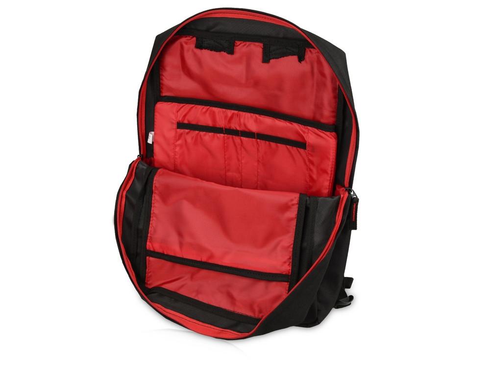 Рюкзак Boston для ноутбука 15,6, черный/красный - фото 5