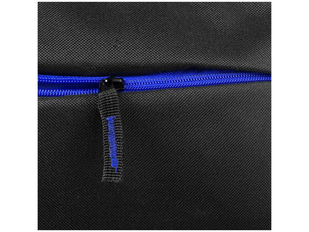 Рюкзак Boston для ноутбука 15,6, черный/ярко-синий - фото 3