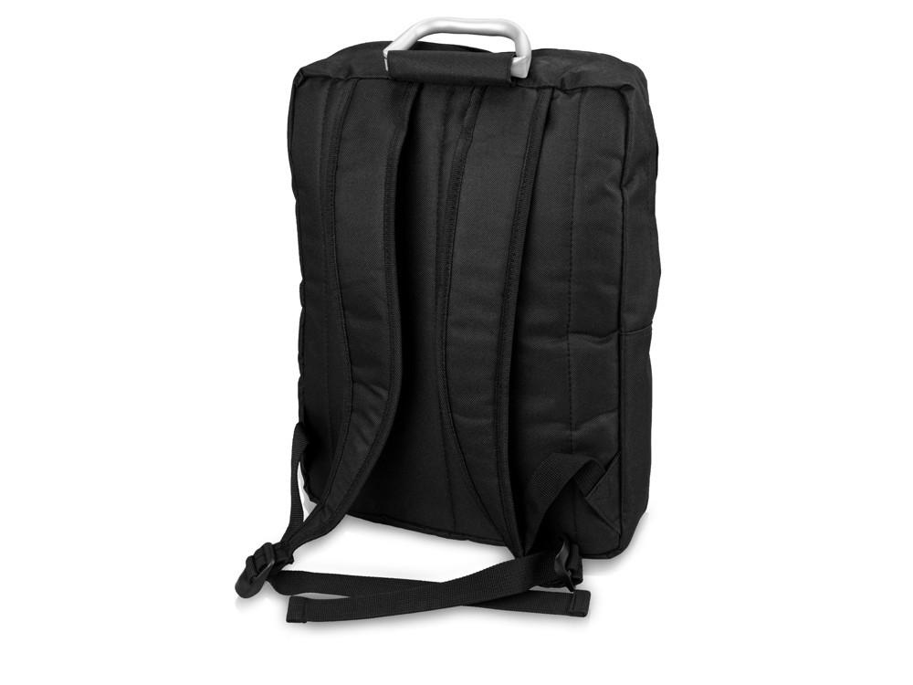 Рюкзак Boston для ноутбука 15,6, черный/ярко-синий - фото 4