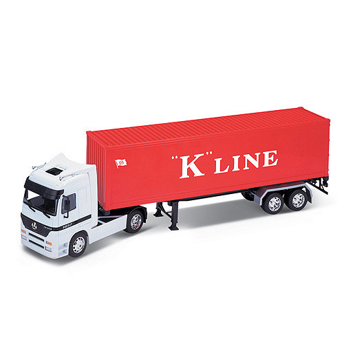 1/32 Welly Mercedes Benz Actros (прицеп)