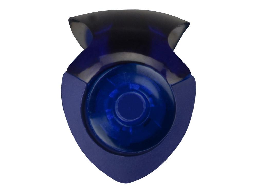 Ручка шариковая Prodir DS8 PRR софт-тач, синий - фото 7