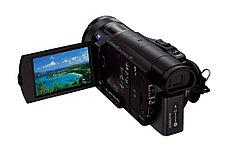 Компактный 4К камкордер Sony FDR AX100e, фото 3
