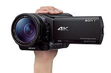 Компактный 4К камкордер Sony FDR AX100e, фото 2