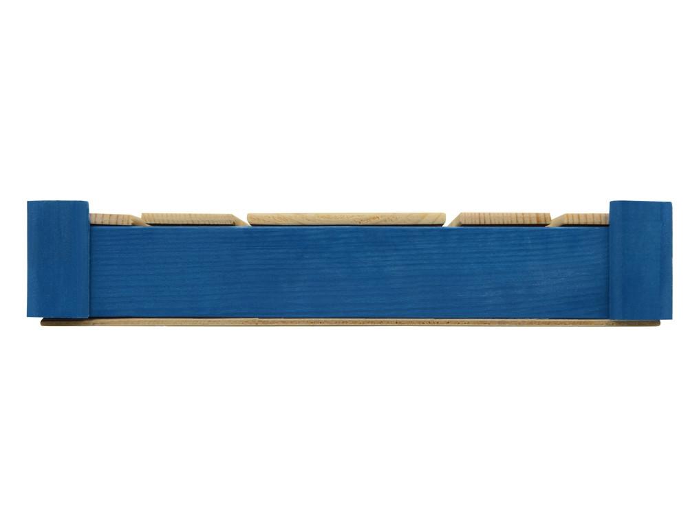 Подарочная деревянная коробка, синий - фото 5