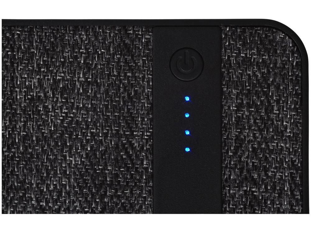 Зарядное устройство из ткани, 4000 mAh, черный - фото 5
