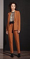 Жакет Nova Line-1986, коричневый, 42