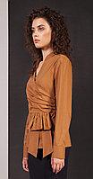 Блузка Nova Line-20131, коричневый, 42