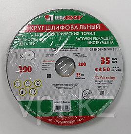 Круг абразивный шлифовальный (заточной) зеленый 200*20*32, 63C, F60 K-L (25H), Луга