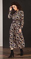 Платье Nova Line-5882/1, синий, 42