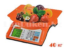 Электронные торговые весы со счетчиком цены переменного и постоянного электропитания Starlux SL-982