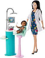 Игровой набор Barbie Барби Стоматолог, фото 1