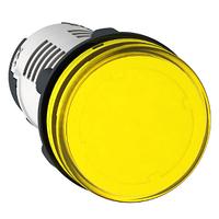 XB7EV05BP Сигнальная лампа 22 мм 24В желтая