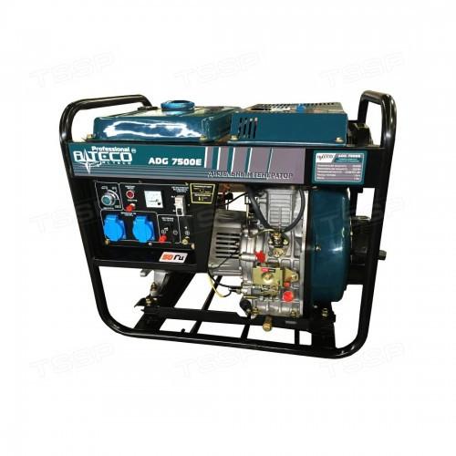 Дизельный однофазный генератор 5 квт Alteco Professional ADG-7500 E
