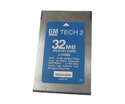 N00127 32 MB PCMCIA карта для Tech2