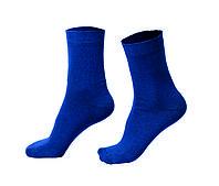 Женские носки однотонные, синие