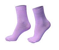 Женские носки однотонные, розовые