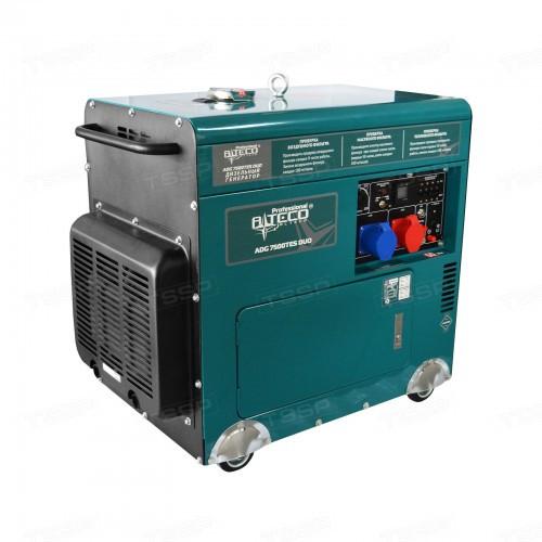 Дизельный генератор трехфазный Alteco Professional ADG 7500TES DUO