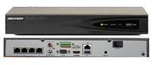 DS-7604NI-K1/4P - 4-х канальный сетевой 4К-видеорегистратор с 4-мя PoE-портами.
