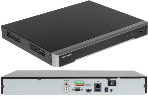 DS-7616NI-K2 - 16-ти канальный сетевой 4К-видеорегистратор.